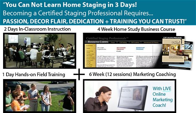 Home staging course details